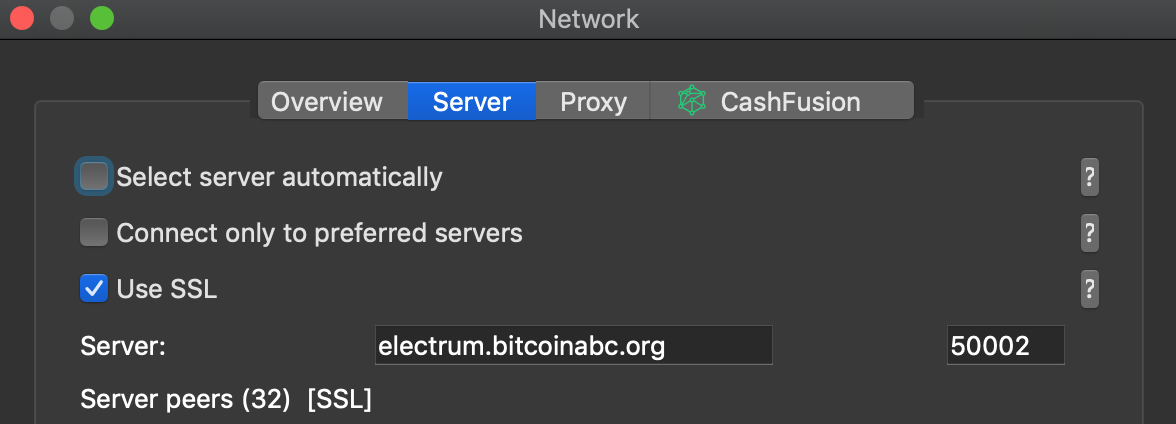 Electron Cash network 2