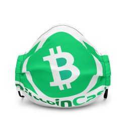 Bitcoin Cash face mask