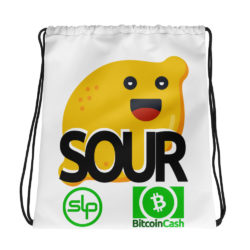 SOUR drawstring bag