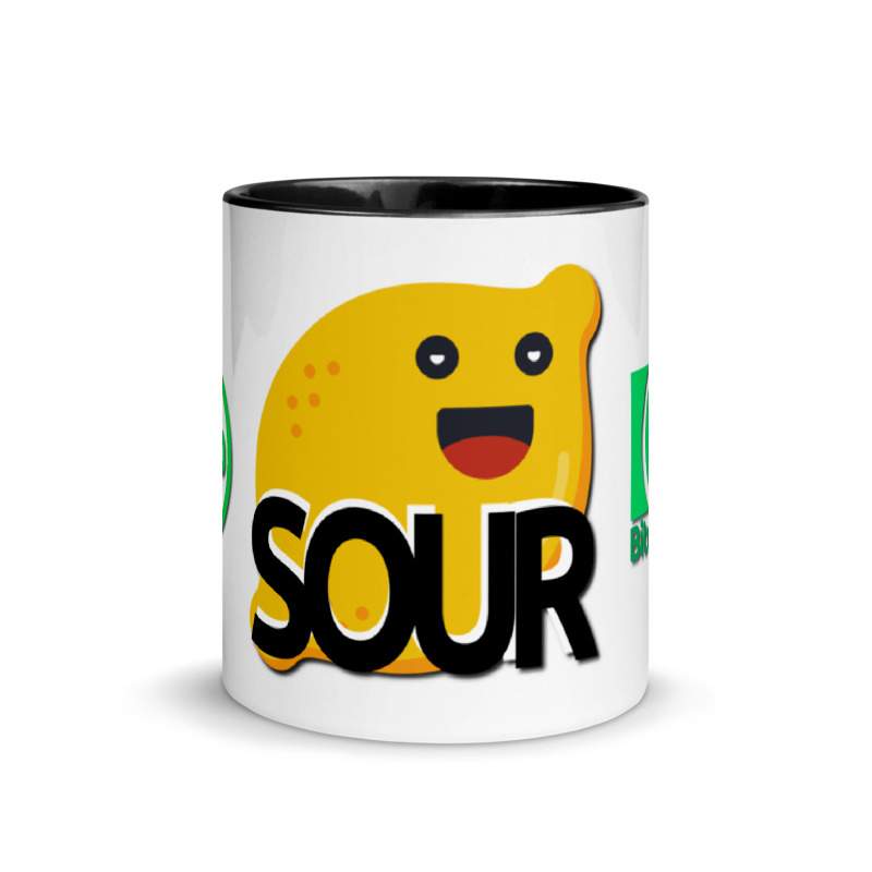 SOUR coffee mug